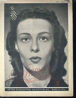 Ilse Werner's Lieblingslieder
