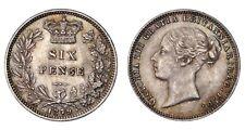 GRAN BRETAGNA Victoria 6 Pence 1879 - KM# 751.2