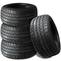 4 New Lionhart LH-Five 275/55R17 109V All Season Ultra High Performance Tires