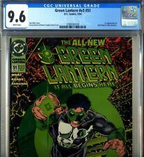 PRIMO:  GREEN LANTERN #51 1st Kyle Rayner costume NM+ 9.6 CGC 1994 DC comics