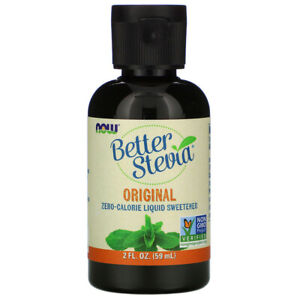 NOW FOODS Better Stevia Liquid Extract 59ml FREE SHIPPING