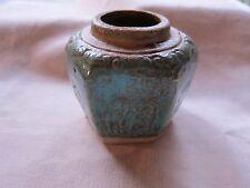 Old Vintage Chinese Green Ginger Jar GC