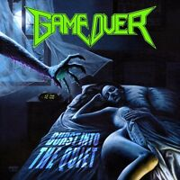 GAME OVER - Burst Into The Quiet - LP Blue [limited 100]