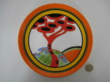 WEDGWOOD CLARICE CLIFF RED TREE ART DECO DESIGN LIMITED EDITION PLATE CERT