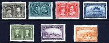 CANADA KE VII 1908 Quebec Tercentenary Set (ex 20c.) SG 188 to SG 194 MNG