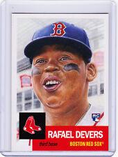 Rafael Devers Boston Red Sox Rookie 2018 Topps 1953 Living Set 29 RC Week 10