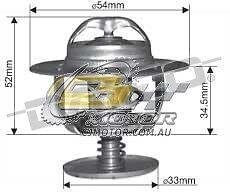 DAYCO Thermostat FOR Hyundai Tucson 5/06-1/10 2L MPFI JN 104kW G4GC