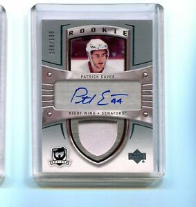 2005-06 The Cup Patrick Eaves Auto Rookie Patch 198/199  137