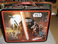 Star Wars-R2D2 & CP30 & Darth`2015`Lucasfilm Ltd`Metal Lunchbox`New->Free To US