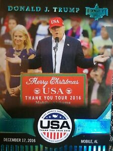 Donald J. Trump Decision 2016 TY8 Card Thank You America Merry Christmas
