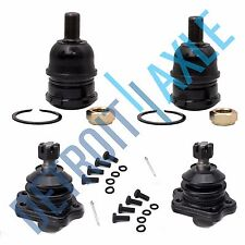 Front Upper & Lower Ball Joints for Nissan 86-94 D21 95-97 Pickup 2WD 3.0L 2.4L