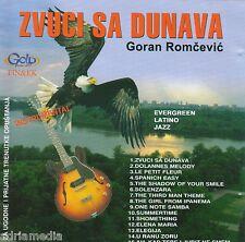 GORAN ROMCEVIC CD Zvuci sa Dunava Evergreen Latino Jazz Best Hit Music Melody