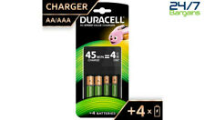 Duracell 45min AA/AAA Charger w/ 2 x AA and 2 x AAA Rechargeable Batteries