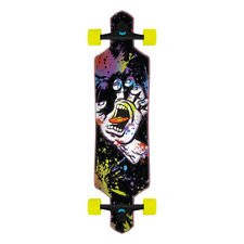 "Santa Cruz Longboard Complete Hand Splatter Drop Through Black 9.0"" x 36"""