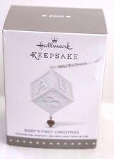 2015 Hallmark Keepsake Ornament Baby's First Christmas New