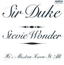 Stevie Wonder - Sir Duke / He's Misstra Know-It-All 7in Amiga 1976 '