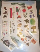 Cowgirl Western Tattoo Flash Sailor Jerry  Sticker Scrapbook Crafts Party DIY