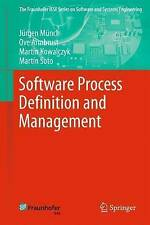 Software Process Definition and Management (The Fraunhofer IESE Series on Softwa