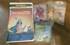 Walt Disney Pocahontas Gold Collection VHS tape Classic With Kids Meal Toys NIP