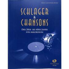 Schlager und Chansons der 20er- bis 40er-Jahre - Noten für Akkordeon 1861