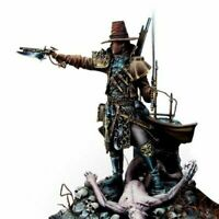1:24 75mm Resin Figure Model Kit Witch Hunter Warrior 2 HEADS Helsing Unpainted