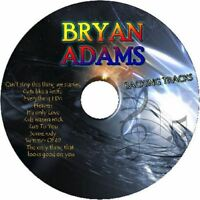 BRYAN ADAMS ROCK GUITAR BACKING TRACKS CD BEST GREATEST HITS MUSIC PLAY ALONG