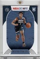 2020-21 Panini NBA Hoops Anthony Edwards Rookie #216 Base RC Timberwolves