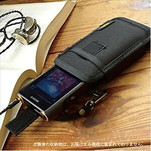 VanNuys Vertical Carrying Case for SONY Walkman WM1Z WM1A Type-A Black F/S JAPAN
