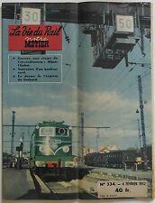 La Vie du Rail Notre Métier n°334- 1952 - Le drame de l'express du Gothard