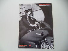 advertising Pubblicità 1998 MOTO DUCATI SUPER SPORT 900