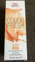 Wella Professionals Colour Fresh Semi Permanent Hair Colour  75ml Brand New
