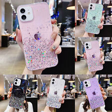 Glitter Sparkle Bling Girls Case Cover For iPhone 12 Pro Max 11 XR XS 8 7 6s SE2