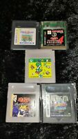 ⭐ Lot Yoshi No Tamago 5 Jeux Nintendo Game Boy GB GBC Japan Jap Ntsc-J 🎌⭐