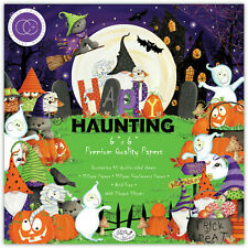 "New Craft Consortium 6"" x 6"" Paper Pad Halloween Happy Haunting"