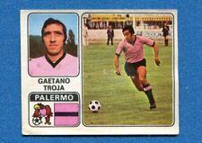 NUOVA N.263 CARICATURA SQUADRA PALERMO FIGURINA CALCIATORI PANINI 1972//73