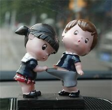 New 2 Pieces Boy Girl Cute Lover Dolls Car Decoration Interior Accessories