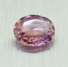 Unheated Natural Ceylon Padparadscha Sapphire, Oval Cut 1.10 Ct (00515)