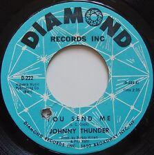 JOHNNY THUNDER: You Send Me SOUL 45 on DIAMOND hear it
