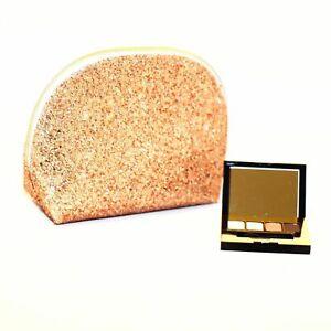 Estee Lauder Makeup Cosmetic Purse Bag+4 Color Envy Eyeshadow Select