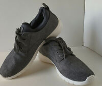 GBX Mens Armada Heather Gray 137698 Canvas Casual Lace Up Oxford Shoes~Sneaker