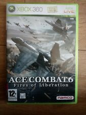 Ace Combat 6 Fires of Liberation - Xbox 360 - Tested - Complete