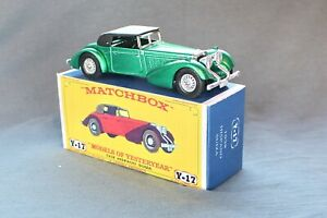 Matchbox Yesteryear Y17-1  Hispano-Suiza 1938 - Code 3 (D97)