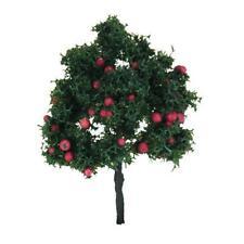 1Pc 2.76 Inch Landscape Model Apple Tree Toy for Train Railway Scenery DIY