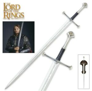 UNITED CUTLERY Lord of the Rings Anduril LOTR Sword Of King Elessar UC1380 NEW