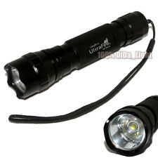 1pcs UltraFire 501B CREE XM-L L2 LED 1Mode 1000 Lumens Tactical Flashlight