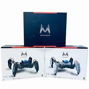 MekaMon Berserker V2 Gaming Robot Educational Fight Coding AR Robots White Black