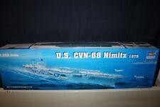 Trumpeter 05605 - 1/350 portaaviones us cvn-68 Nimitz (1975) - nuevo