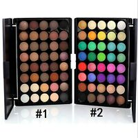 1x 40 Colour Eye Shadow Makeup Cosmetic Shimmer Matte Eyeshadow Palette Set