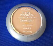 L'Oreal True Match™ Super Blendable Powder #W3 Nude Beige•Warm, 0.33 oz/9.5g.
