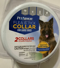 PetArmor Flea and Tick Collar for Dogs Large flea and tick 12 months protection